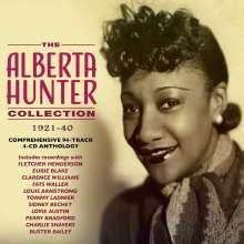 Alberta Hunter: The Alberta Hunter Collection 1921 - 1940, 4 CDs