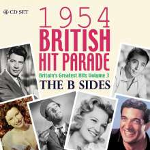 1954 British Hit Parade: The B-Sides, 4 CDs