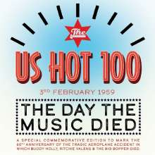 The US Hot 100 - 3rd Feb '59 - The Day The Music Died, 4 CDs