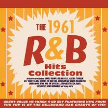 The 1961 R&B Hits Collection, 4 CDs
