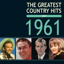 The Greatest Country Hits Of 1961, 4 CDs