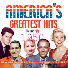 America's Greatest Hits 1950 (Expanded Edition), 4 CDs