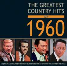 Greatest Country Hits Of 1960, 4 CDs
