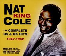 Nat King Cole (1919-1965): The Complete US & UK Hits 1942 - 1962, 5 CDs
