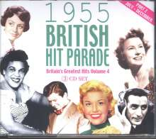 1955 British Hit Parade, 3 CDs