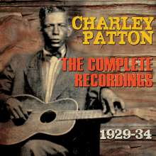 Charley Patton: The Complete Recordings 1929 - 1934, 3 CDs