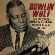 Howlin' Wolf: The Complete RPM & Chess Singles 1951 - 1962, 3 CDs