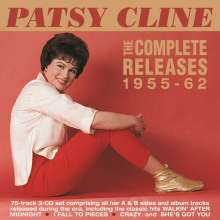 Patsy Cline: The Complete Releases 1955 - 1962, 3 CDs