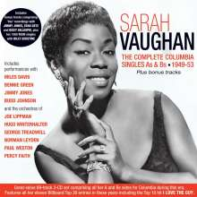 Sarah Vaughan (1924-1990): The Complete Columbia Singles As & Bs 1949-53, 3 CDs