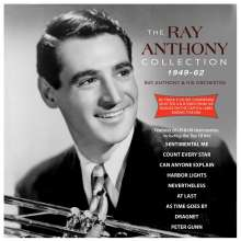 Ray Anthony (geb. 1922): Ray Anthony Collection 1949 - 1962, 3 CDs