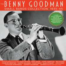 Benny Goodman (1909-1986): The Benny Goodman Small Bands Collection 1935 - 1945, 3 CDs