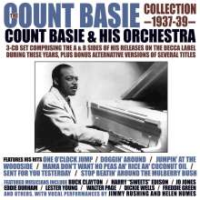 Count Basie (1904-1984): Count Basie Collection 1937 - 1939, 3 CDs