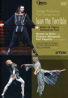 Ballet de l'Opera National de Paris:Iwan der Schreckliche (Prokofieff), DVD