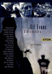 Gil Evans (1912-1988): Live In Lugano, 27.1.1983, DVD