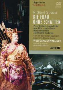Richard Strauss (1864-1949): Die Frau ohne Schatten, DVD