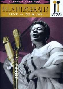 Ella Fitzgerald (1917-1996): Live In '57 & '63, DVD