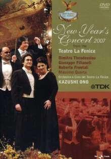 Neujahrskonzert 2007 (Teatro la Fenice) mit Kazushi Ono, DVD