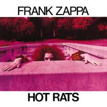 Frank Zappa (1940-1993): Hot Rats (50th Anniversary) (180g) (Limited Edition) (Translucent Hot Pink Vinyl), LP