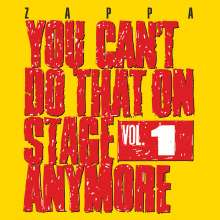 Frank Zappa (1940-1993): You Can't Do That On Stage Anymore Vol. 1, 2 CDs