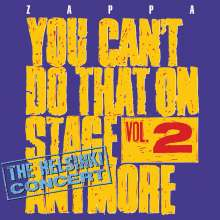 Frank Zappa (1940-1993): You Can't Do That On Stage Anymore Vol. 2, 2 CDs