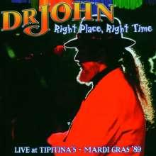 Dr. John: Right Place, Right Time - Live At Tipitina's/Mardi Gras '89, CD