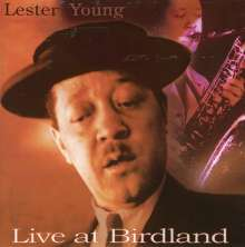 Lester Young (1909-1959): Live At Birdland 1953 & 1956, CD