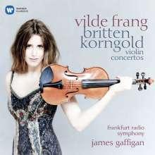 Vilde Frang spielt Violinkonzerte von Britten & Korngold, CD