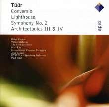 Erkki-Sven Tüür (geb. 1959): Symphonie Nr.2, CD