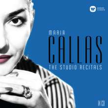 Maria Callas - The Studio Recitals 1954-1969, 14 CDs