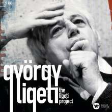 György Ligeti (1923-2006): György Ligeti  - The Ligeti Project, 5 CDs