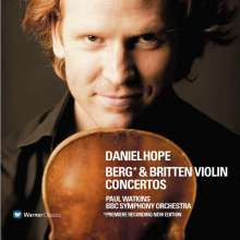 Daniel Hope spielt Violinkonzerte, CD