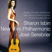 Sharon Isbin spielt Gitarrenkonzerte, CD