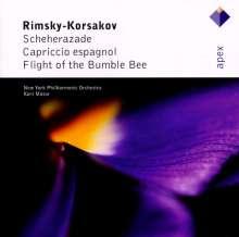 Nikolai Rimsky-Korssakoff (1844-1908): Scheherazade op.35, CD