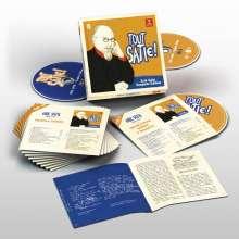 Erik Satie (1866-1925): Tout Satie! - Erik Satie Complete Edition, 10 CDs