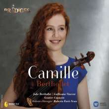 Camille Berthollet (Violine & Cello), CD
