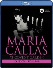 Maria Callas at Covent Garden 1962 & 1964, Blu-ray Disc