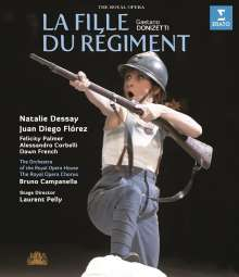 Gaetano Donizetti (1797-1848): La Fille du Regiment, Blu-ray Disc