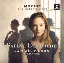 Sabine Devieilhe - Mozart - The Weber Sisters (Deluxe-Ausgabe), CD