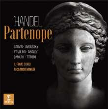 Georg Friedrich Händel (1685-1759): Partenope, 3 CDs