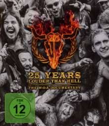 25 Years Louder Than Hell: The W:O:A Documentary, Blu-ray Disc