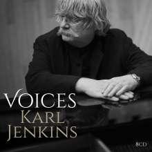 Karl Jenkins (geb. 1944): Karl Jenkins - Voices, 8 CDs