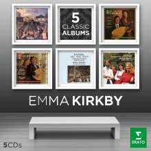 Emma Kirkby - 5 Classic Albums, 5 CDs