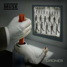Muse: Drones (180g) (Limited Deluxe Edition) (2LP + CD + DVD), 2 LPs, 1 CD und 1 DVD