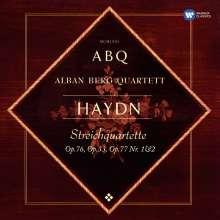 Joseph Haydn (1732-1809): Streichquartette Nr.75-83 (op.76 Nr.1-6, op.77 Nr.1 & 2), 3 CDs