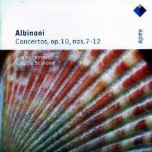 Tomaso Albinoni (1671-1751): Concerti op.10 Nr.7-12, CD