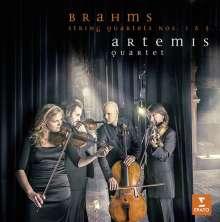 Johannes Brahms (1833-1897): Streichquartette Nr.1 & 3, CD