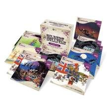 Arthur Sullivan (1842-1900): Operetten, 16 CDs