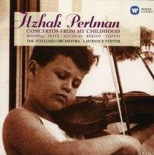 Itzhak Perlman - Concertos from my Childhood, CD