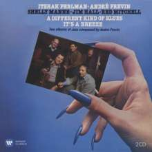 Itzhak Perlman & Andre Previn - A Different Kind of Blues / It's a Breeze, 2 CDs