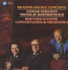 Johannes Brahms (1833-1897): Konzert für Violine,Cello & Orchester a-moll op.102, CD